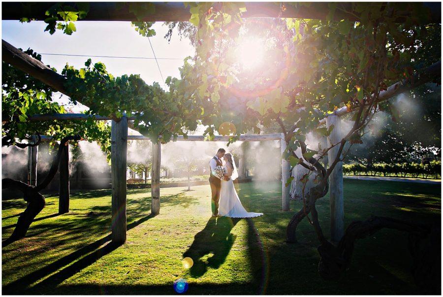 Ash & Tim Married   Sandalford Winery