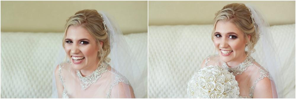 portraits of bride