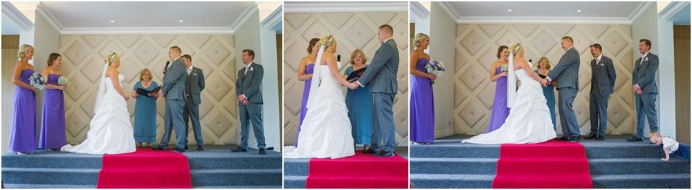 Wedding Ceremony at Caversham House