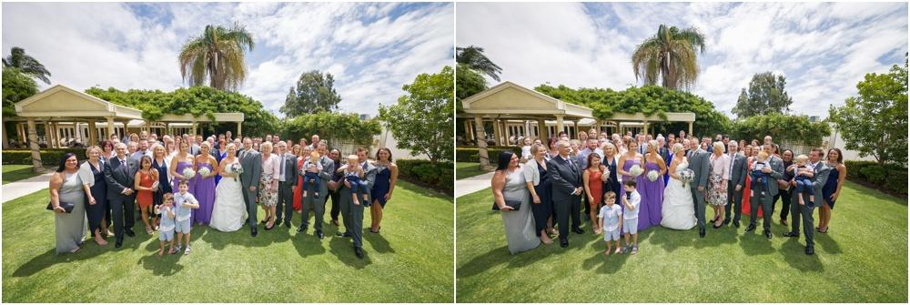 wedding group photo at caversham house